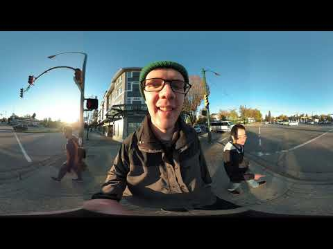 360 Vlog: Walking down Oak Street in Vancouver and exploring King Edward Mall