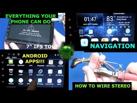 EinCar Android Stereo, Android Navigation, In Car Google Maps, Android Auto?