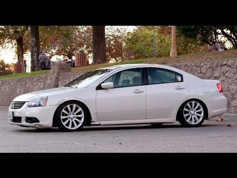 modified 2009 mitsubishi galant - one take - youtube