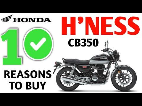 10 REASONS TO BUY HONDA H'NESS CB350, HONDA HIGHNESS PROS