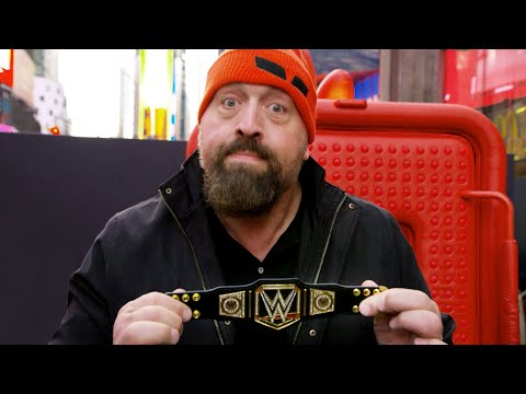 Big Show helps New York City vent with Angry Birds