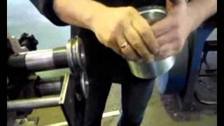 Врезка трубы из тонколистовой стали в плоскость 2 серия(Один из способов присоединения (врезки) трубы из тонколистовой стали в пластину., 2013-06-27T17:19:51.000Z)