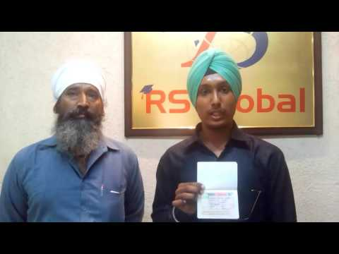 Student got Study visa from RS Global Immigration Jalandhar - Best Immigration Consultant in Punjab
