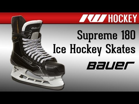 Bauer Supreme 180 Ice Hockey Skate Review