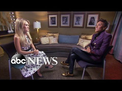 Carrie Underwood Talks New Album and Being...