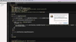 API notification HTML5 avec PHP et Jquery