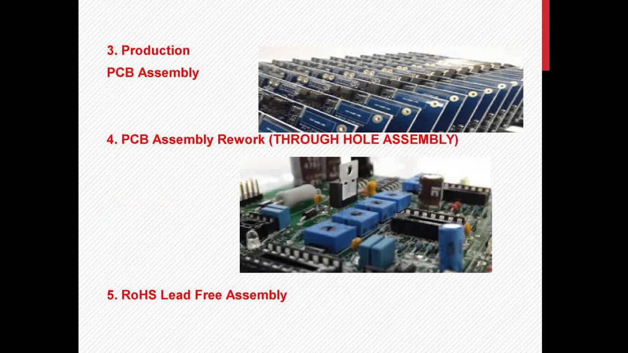 Pcb Assembly Youtube Image Lead Free Rohs Printed Circuit Board Assemblies
