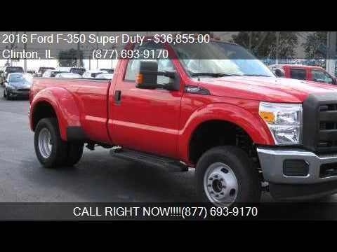 2016 ford f 350 super duty 4wd reg cab 137 xl for sale in cl youtube