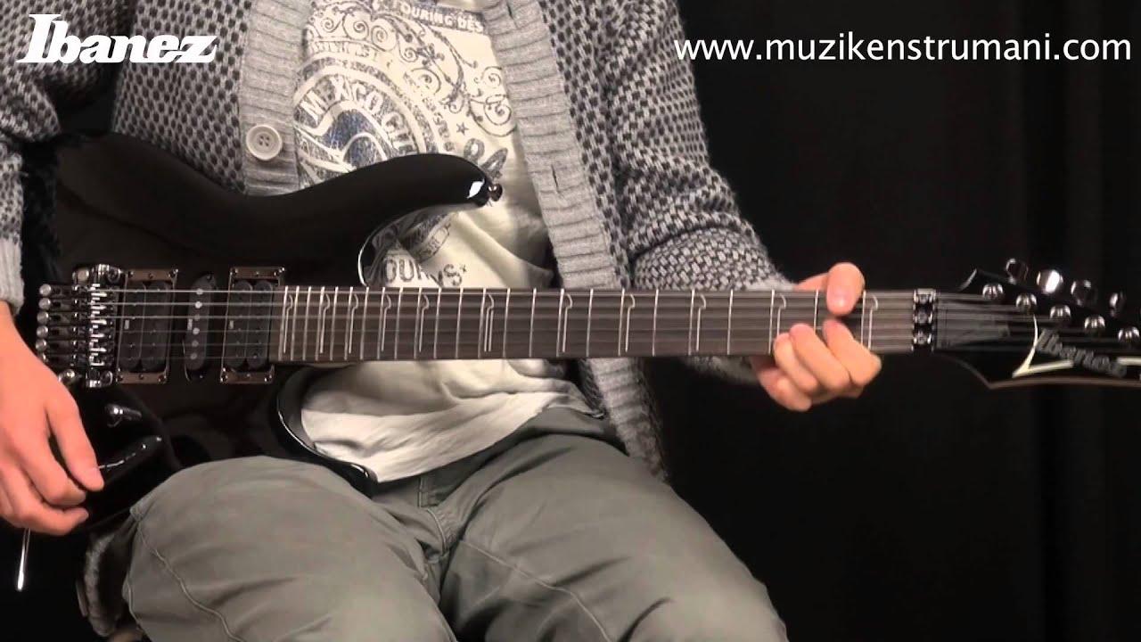 ibanez s570 bk elektro gitar youtube