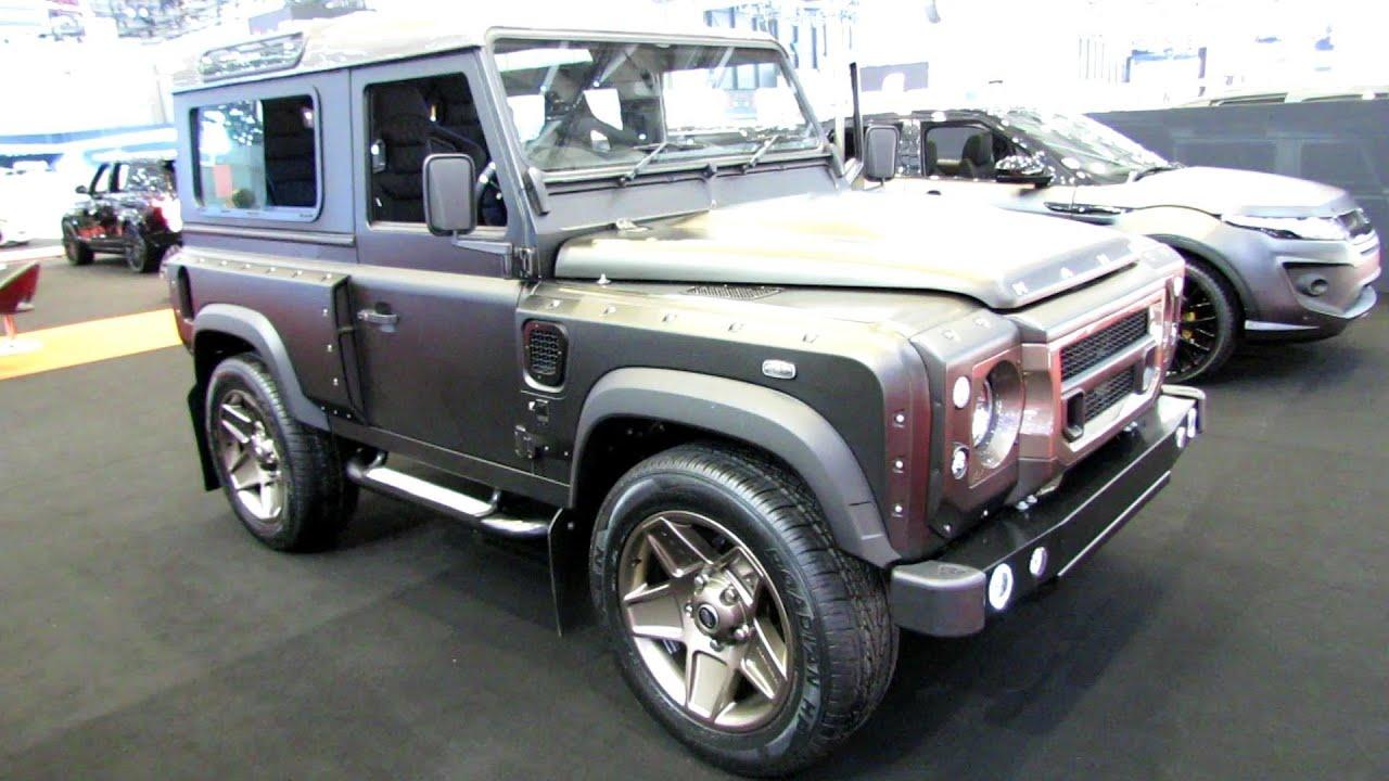 2014 Land Rover Defender Kahn Chelsea Wide Track