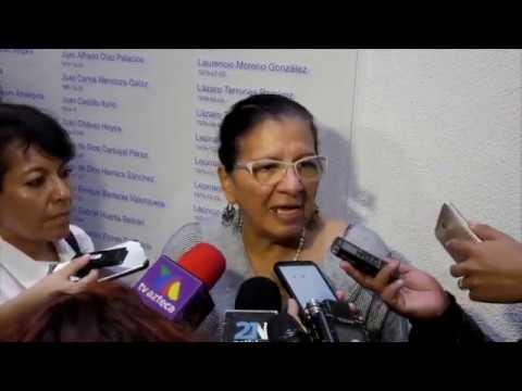 Entrevista a Nashieli Ramírez al finalizar presentación de Recomendaciones 06, 07, 08 y 09/2019