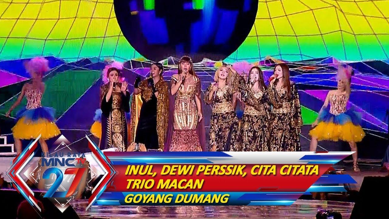 TERBAIK! Inul, Dewi Persik, Cita Citata, Trio Macan [GOYANG DUMANG] - Kilau Raya MNCTV 27 (20/10)