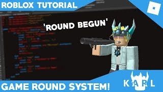 ROBLOX Scripting Tutorial: Game Round System