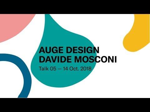Auge Design - Davide Mosconi | Talk 05 | TGD Vol.03