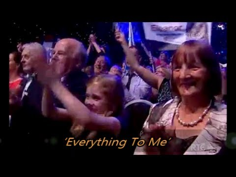Shane Filan - Everything To Me with Lyrics (first live performance at Rose of Tralee)