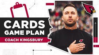 Kingsbury Previews the Season Finale vs. Sean McVay & Rams | Arizona Cardinals