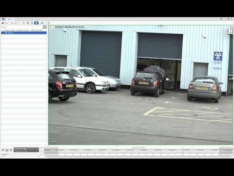 Avigilon 16M -Dynamic Contrast   Garage Environment Demo