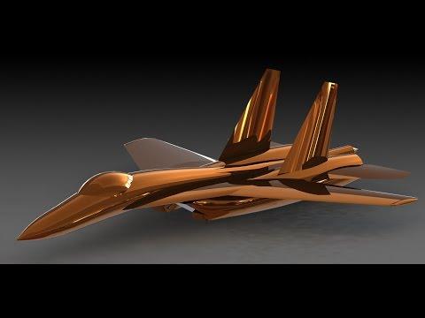 SolidWorks Tutorials | Flanker | Sukhoi 27 Plane | تصميم طائرة سوخوي 27