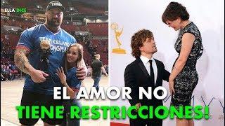 """10 Parejas FAMOSAS Que """"ROMPIERON"""" Los ESTEREOTIPOS De La Sociedad"""