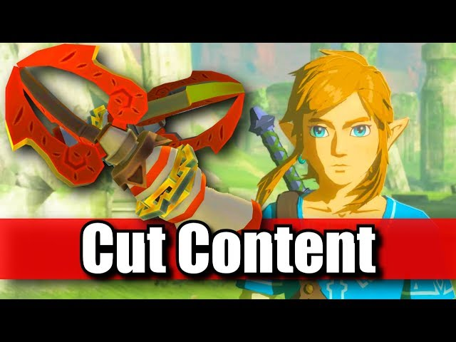 Cut Content! Hookshot in Breath of the Wild