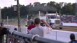 Dump Truck Pull @ The Buck 6/16/12