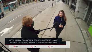 How many Canadian prime ministers have served during Queen Elizabeth II's reign? | Outburst