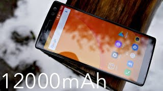 Doogee BL12000 Review - A 12000mAh Smartphone?
