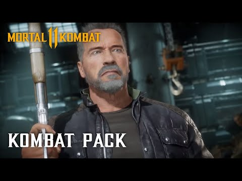 Check out the Terminator in Mortal Kombat 11