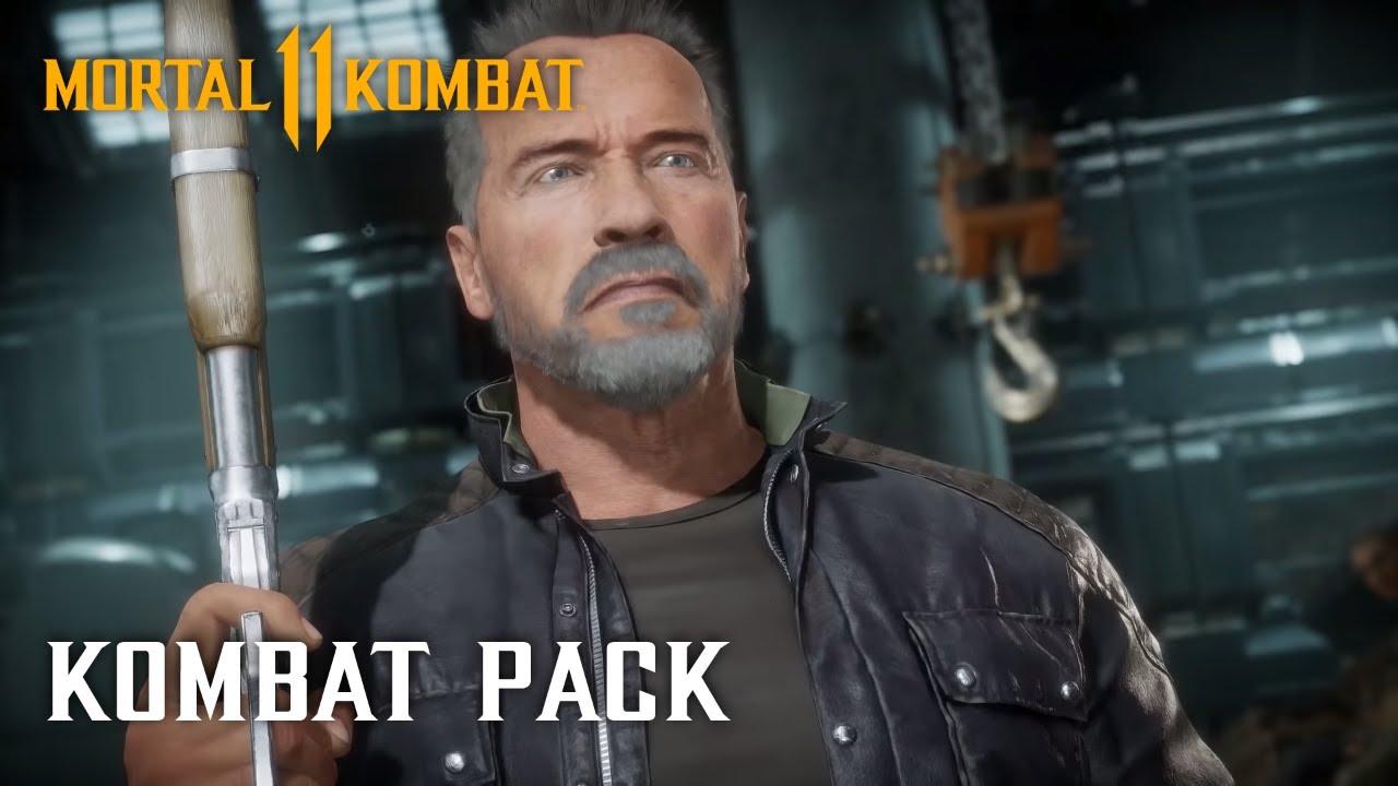 Download Mortal Kombat 11 Kombat Pack – Official Terminator T-800 Gameplay Trailer