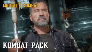 Mortal Kombat 11 Kombat Pack – Official Terminator T-800 Gameplay Trailer