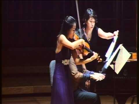 Corigliano Violin Sonata 4th mvmt performed by Nin...