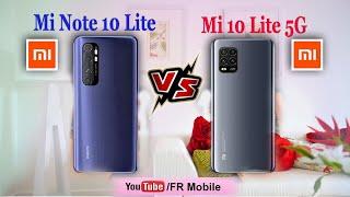 Xiaomi Mi Note 10 Lite vs Xiaomi Mi 10 Lite 5G | FR Mobile
