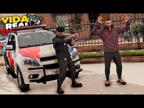 GTA V - VIDA REAL | FUI TRAÍDO ? A POLÍCIA INVADIU MINHA CASA ! #604