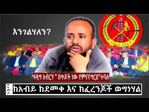 Zadig Abraha said he is being threatened from TPLF supports