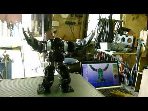 ロボット制御ソフトウェア「V-Sido」実演デモ