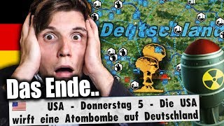 Amerika bewirft DEUTSCHLAND mit ATOMBOMBEN (ENDE) | Bundeskanzler Simulator #14