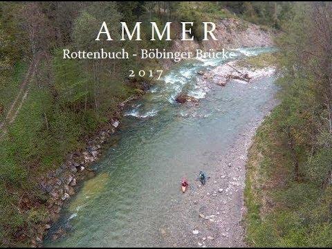untere Ammer Rottenbuch - Böbinger Brücke 2017 Wildwasser Kajak Flüsse Bayern Liquid Locgic GUS