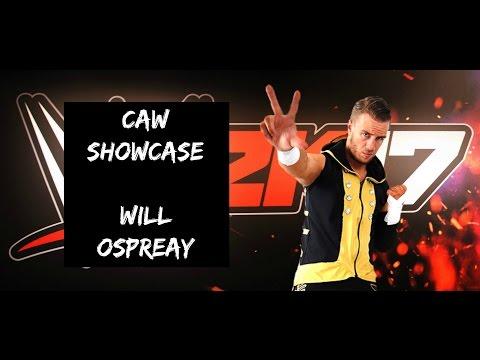 Will Ospreay - WWE 2K17 CAW Showcase
