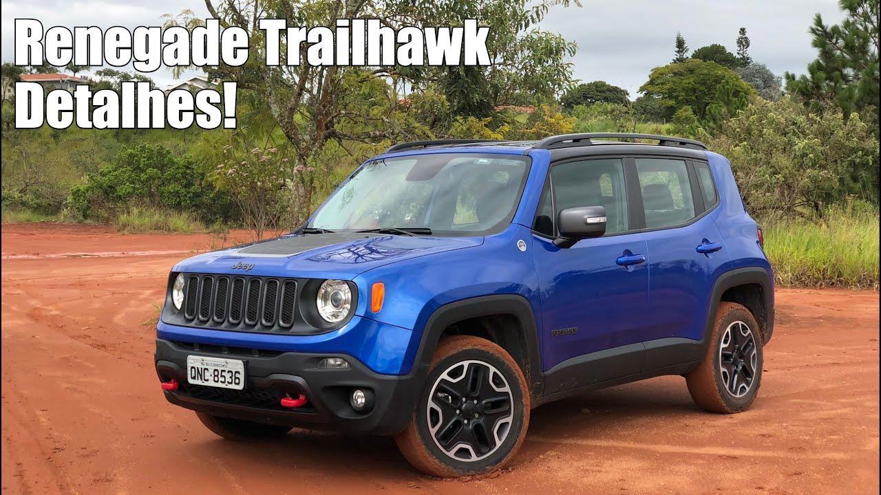 Jeep Renegade Trailhawk 2018 Em Detalhes Falando De Carro Youtube