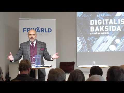 """Lunchseminarium """"Digitaliseringens baksida – cyberhotets komponenter och konsekvenser"""""""