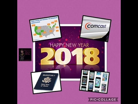 NEW IN 2018! Minimum Wage Increase| No Flying In U.S. Without Passport| Comcast Prices Increase