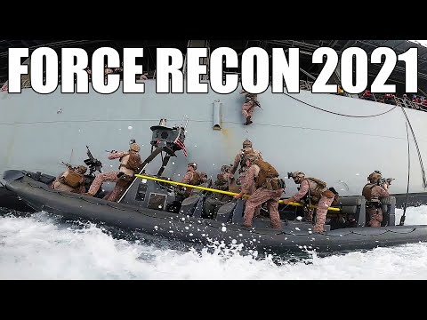 2021 U.S. Marine Corps Force Recon   Swift, Silent, Deadly