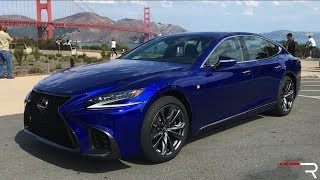2018 Lexus LS500 F-Sport – An Athletic Twin Turbo Executive Sedan?