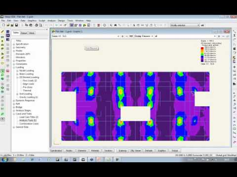 Measuring Human Induced Vibration with Oasys GSA Footfall (Oasys Software Webinar)