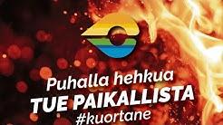 """""""Kysy Koronasta""""-videotallenne kuortanelaisille yrityksille. 15.4.2020"""