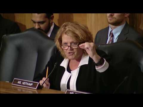 Heitkamp Holds Wells Fargo Accountable for Unauthorized Accounts at Senate Hearing