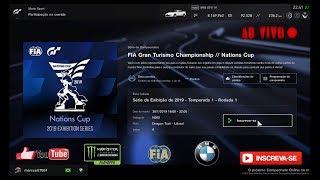 Gran Turismo®SPORT - Competições Online: Taça da Nações Fia 1° Temporada de 2019