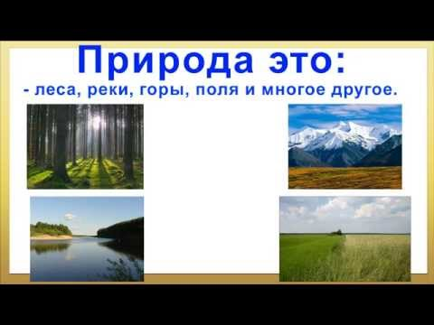 презентация на тему берегите природу. Природа и её загрязнение