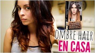 COMO ACLARAR TU CABELLO EN CASA | Mechas Californianas | Ombre hair! Prt 1