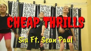 Cheap Thrills || Sia ft. sean paul || Aryan Choreography